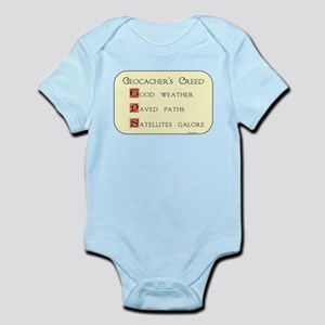 Geocacher's Creed Infant Bodysuit