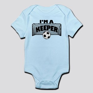 I'm a Keeper Soccer Goal Keeper Original Body Suit