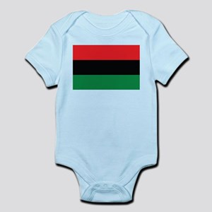 The Red, Black and Green Flag Body Suit