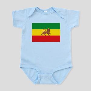 Ethiopia Flag Lion of Judah Rasta Reggae Body Suit