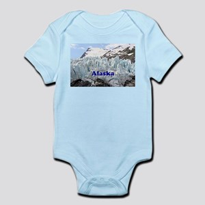 Alaska: Portage Glacier, USA Infant Bodysuit