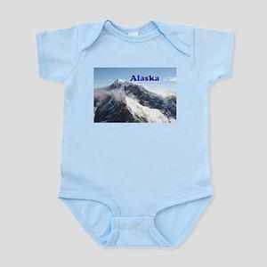Alaska: Alaska Range, USA Infant Bodysuit
