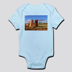 Red Centre Way sign, Outback Australia Body Suit