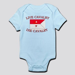 4th Squadron 7th Cavalry Infant Bodysuit