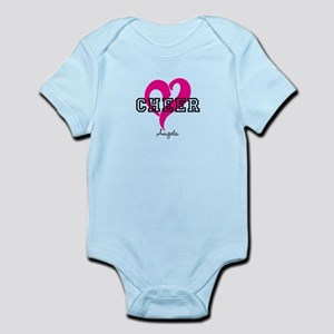 Love Cheer Heart Body Suit