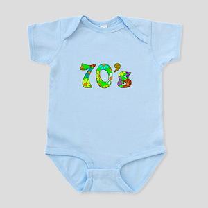 70's Flowers Infant Bodysuit