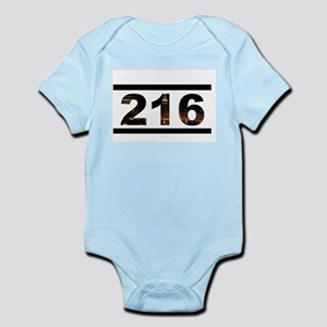 Straight Outta 216 Infant Bodysuit