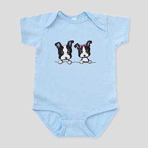 KiniArt Boston Terrier Infant Bodysuit