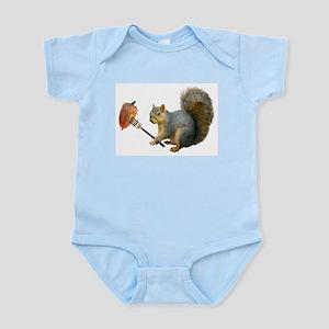 Squirrel Acorn Fork Body Suit