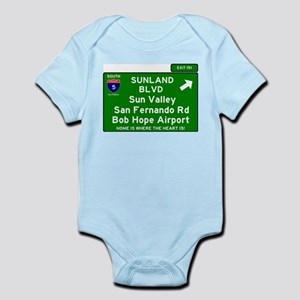 I5 INTERSTATE EXIT SIGN - CALIFORNIA - S Body Suit