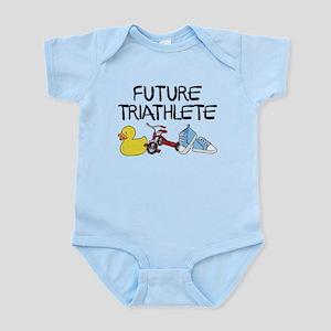 Future Triathlete Baby Light Bodysuit