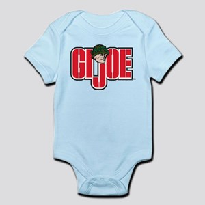GI Joe Logo Baby Light Bodysuit
