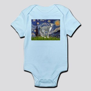 Starry Night/Italian Greyhoun Infant Bodysuit