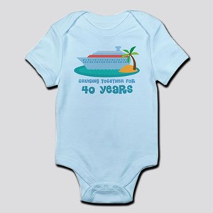 40th Annivesrary Cruise Ship Body Suit