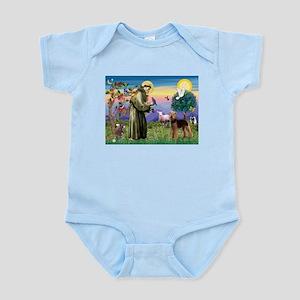 Saint Francis & Airedale Infant Bodysuit