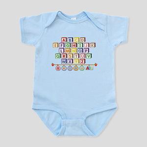 ABC Blocks Infant Bodysuit