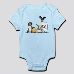 Italian Greyhound Trio Body Suit