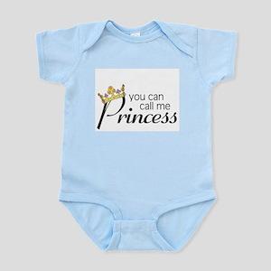 CALL ME PRINCESS Infant Creeper