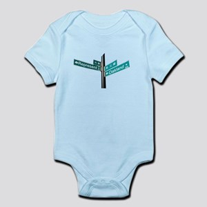 Corner of Represent and Oakla Infant Bodysuit