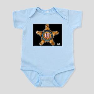 Secret Service Badge Infant Bodysuit
