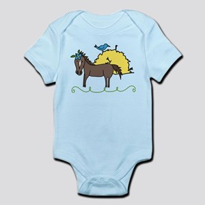 Hungry for Hay Infant Bodysuit