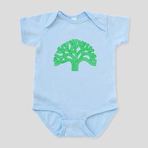 Oakland Tree Lim Green Infant Bodysuit