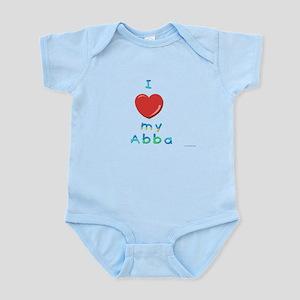 I Love My Abba Infant Bodysuit