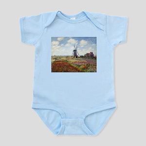 Monet Fields Of Tulip Infant Bodysuit
