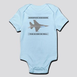Aero Engineers: How We Roll Infant Bodysuit