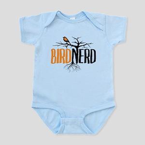 Bird Nerd (Black and Orange) Body Suit