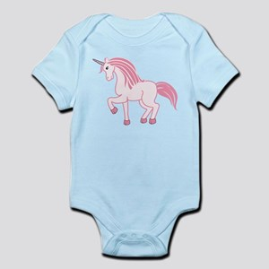 Pink Unicorn Infant Bodysuit