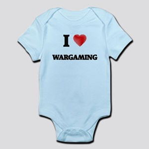 I Love Wargaming Body Suit
