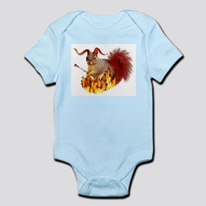 Krampus Squirrel Infant Bodysuit