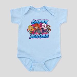 Super Heroes Baby Light Bodysuit