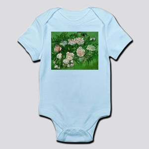 Pink Roses by Vincent van Gogh Body Suit