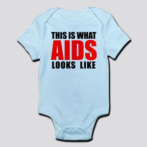 What AIDS looks like Infant Bodysuit