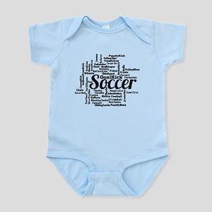 Soccer Word Cloud Body Suit