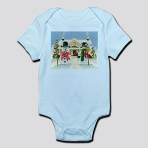 American Snowman Gothic Infant Bodysuit
