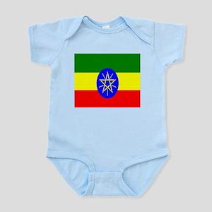 Flag of Ethiopia Body Suit