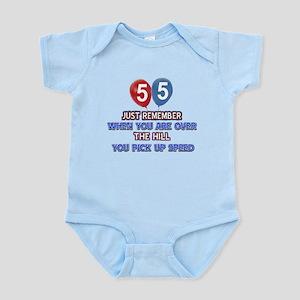 55 year old designs Infant Bodysuit