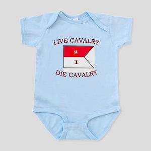 1st Squadron 14th Cavalry Infant Bodysuit