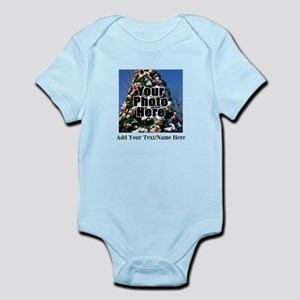 Custom Personalized Color Photo and Text Body Suit