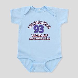 Celebrating 93 Years Infant Bodysuit
