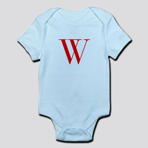 W-bod red2 Body Suit