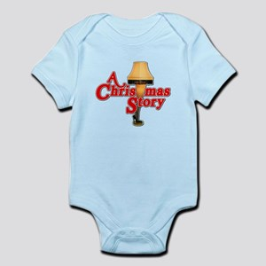 A Christmas Story Movie Lamp Infant Bodysuit