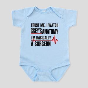 Greys Anatomy Trust me Body Suit