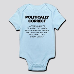 Politically Correct Pansies Body Suit