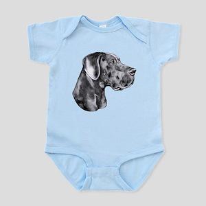 Great Dane HS Blue UC Infant Bodysuit
