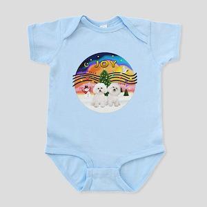 XMusic2 - Two Bichon Infant Bodysuit