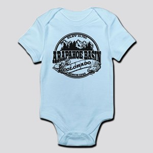 A-Basin Old Circle Black Infant Bodysuit